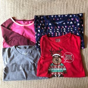 Other - Lot of girls size 10-12 long sleeve shirts